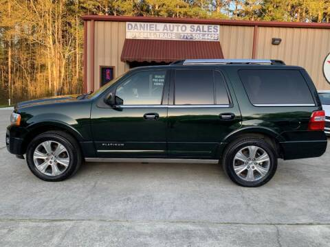 2015 Ford Expedition for sale at Daniel Used Auto Sales in Dallas GA