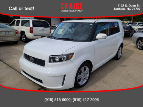 2008 Scion xB for sale at CRAIGE MOTOR CO in Durham NC