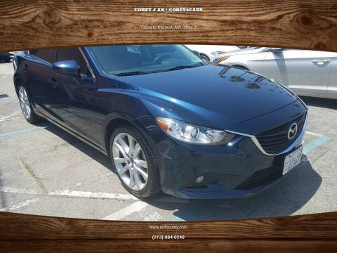 2016 Mazda MAZDA6 for sale at WWW.COREY4CARS.COM / COREY J AN in Los Angeles CA