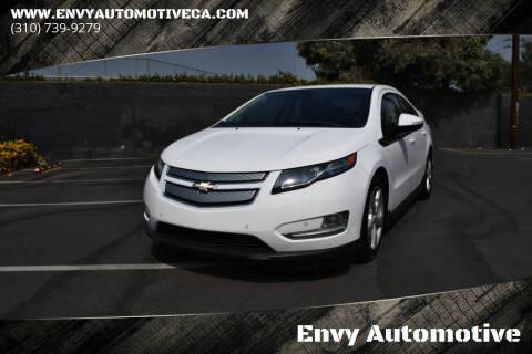 2013 Chevrolet Volt for sale at Envy Automotive in Studio City CA
