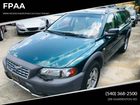 2002 Volvo XC for sale at FPAA in Fredericksburg VA