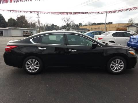 2016 Nissan Altima for sale at Kenny's Auto Sales Inc. in Lowell NC