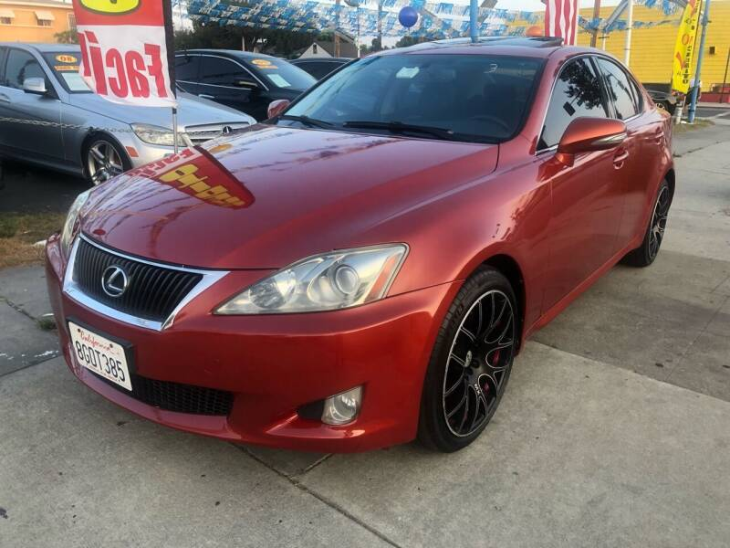 2010 Lexus IS 250 for sale at Plaza Auto Sales in Los Angeles CA