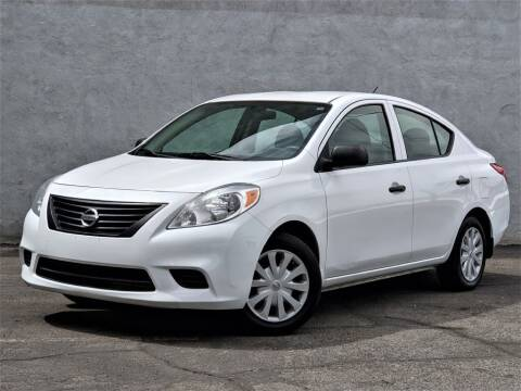 2012 Nissan Versa for sale at Divine Motors in Las Vegas NV