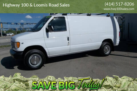 1998 Ford E-250 for sale at Highway 100 & Loomis Road Sales in Franklin WI