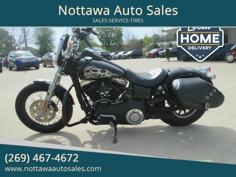 2011 Harley-Davidson FXDB for sale at Nottawa Auto Sales in Nottawa MI