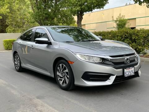 2016 Honda Civic for sale at COUNTY AUTO SALES in Rocklin CA