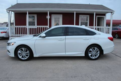 2019 Honda Accord for sale at AMT AUTO SALES LLC in Houston TX