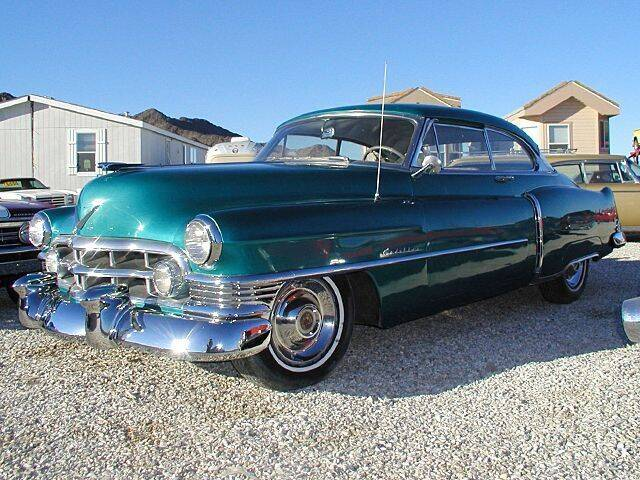 1950 Cadillac Series 62 for sale at Collector Car Channel - Desert Gardens Mobile Homes in Quartzsite AZ