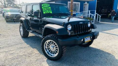 2018 Jeep Wrangler JK Unlimited for sale at La Playita Auto Sales Tulare in Tulare CA
