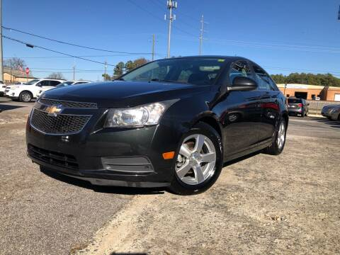 2012 Chevrolet Cruze for sale at Atlas Auto Sales in Smyrna GA