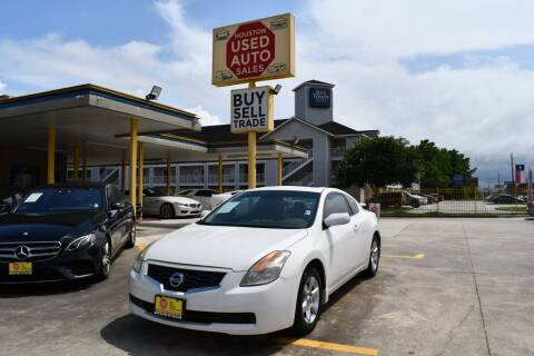 2008 Nissan Altima for sale at Houston Used Auto Sales in Houston TX