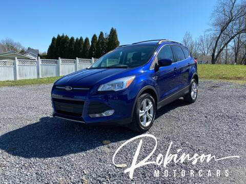 2013 Ford Escape for sale at Robinson Motorcars in Hedgesville WV