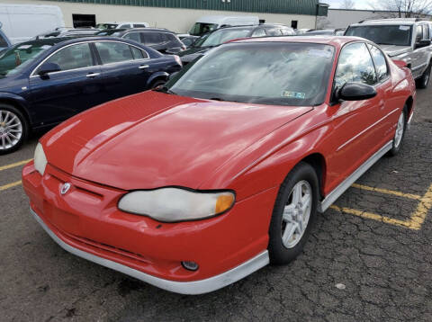 2002 Chevrolet Monte Carlo for sale at Penn American Motors LLC in Emmaus PA