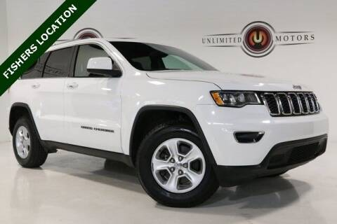 2017 Jeep Grand Cherokee for sale at Unlimited Motors in Fishers IN