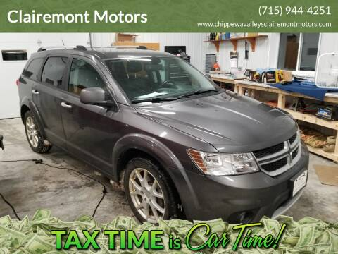 2014 Dodge Journey for sale at Clairemont Motors in Eau Claire WI
