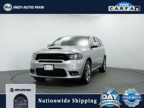 2019 Dodge Durango for sale at INDY AUTO MAN in Indianapolis IN