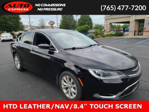 2015 Chrysler 200 for sale at Auto Express in Lafayette IN