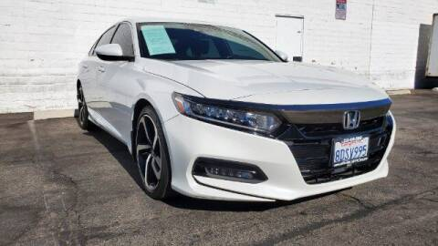 2018 Honda Accord for sale at ADVANTAGE AUTO SALES INC in Bell CA