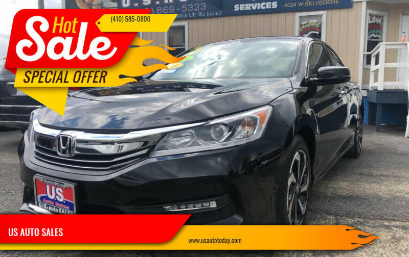 2016 Honda Accord for sale at US AUTO SALES in Baltimore MD