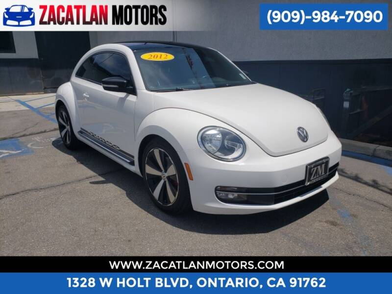 2012 Volkswagen Beetle for sale at Ontario Auto Square in Ontario CA