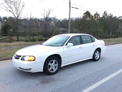 2004 Chevrolet Impala for sale at Judex Motors in Loganville GA