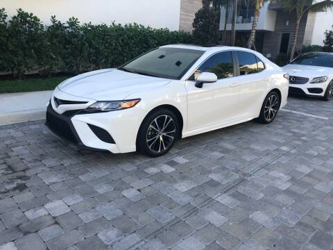 2018 Toyota Camry for sale at CARSTRADA in Hollywood FL