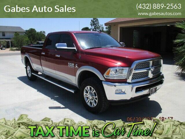 2014 RAM Ram Pickup 2500 for sale at Gabes Auto Sales in Odessa TX