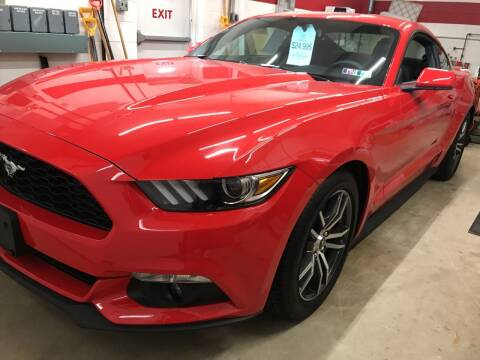 2016 Ford Mustang for sale at Red Top Auto Sales in Scranton PA