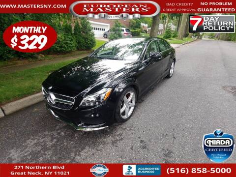 2016 Mercedes-Benz CLS for sale at European Masters in Great Neck NY