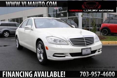 2010 Mercedes-Benz S-Class for sale at Used Imports Auto - Virginia Luxury Motors in Chantilly GA