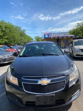 2011 Chevrolet Cruze for sale at Centerpoint Motor Cars in San Antonio TX