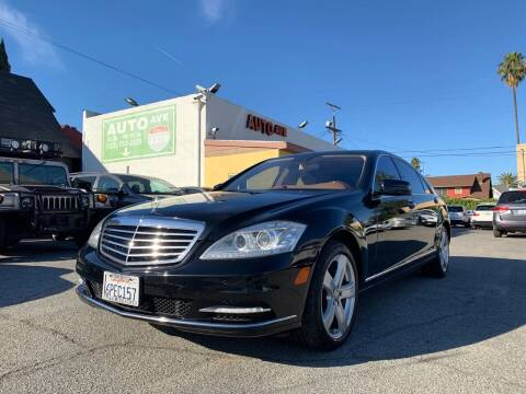 2010 Mercedes-Benz S-Class for sale at Auto Ave in Los Angeles CA
