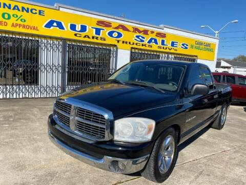 2007 Dodge Ram Pickup 1500 for sale at Sam's Auto Sales in Houston TX