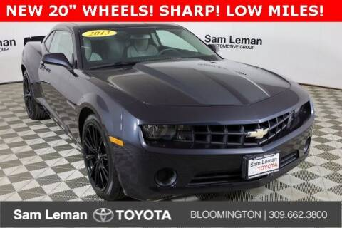 2013 Chevrolet Camaro for sale at Sam Leman Toyota Bloomington in Bloomington IL