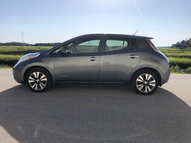 2015 Nissan LEAF for sale at Lowcountry Auto Sales in Charleston SC