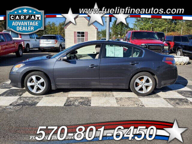 2008 Nissan Altima for sale at FUELIN FINE AUTO SALES INC in Saylorsburg PA