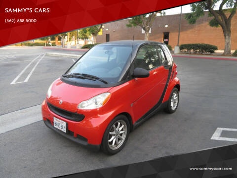 """2008 Smart fortwo for sale at SAMMY""""S CARS in Bellflower CA"""