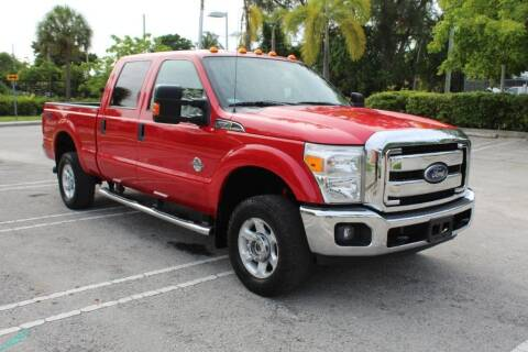 2014 Ford F-350 Super Duty for sale at Truck and Van Outlet in Miami FL