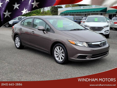 2012 Honda Civic for sale at Windham Motors in Florence SC