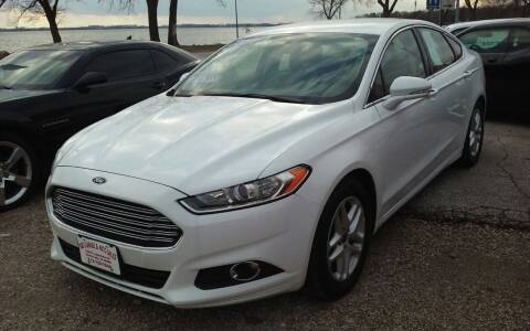2014 Ford Fusion for sale at Bob's Garage Auto Sales and Towing in Storm Lake IA