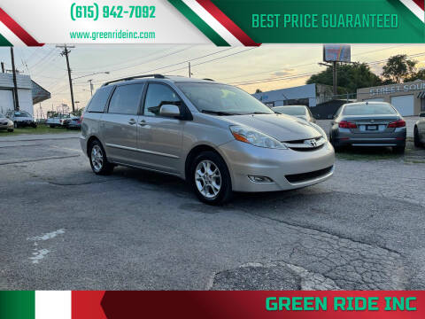 2006 Toyota Sienna for sale at Green Ride Inc in Nashville TN
