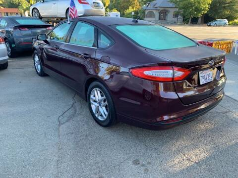 2013 Ford Fusion for sale at Once and Done Motorsports in Chico CA
