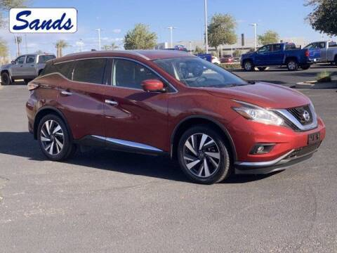 2018 Nissan Murano for sale at Sands Chevrolet in Surprise AZ