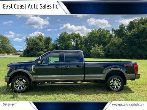 2021 Ford F-350 Super Duty for sale at East Coast Auto Sales llc in Virginia Beach VA