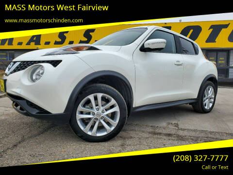 2016 Nissan JUKE for sale at M.A.S.S. Motors - West Fairview in Boise ID