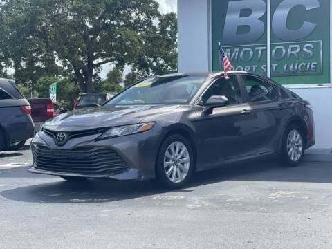 2019 Toyota Camry for sale at BC Motors of Stuart in West Palm Beach FL