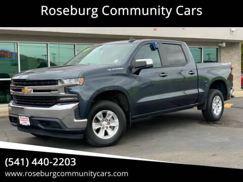 2019 Chevrolet Silverado 1500 for sale at Roseburg Community Cars in Roseburg OR