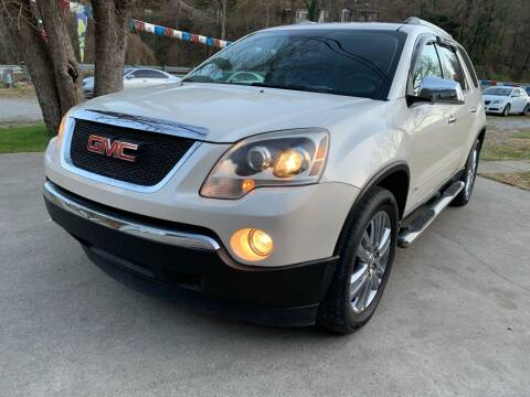 2010 GMC Acadia for sale at Day Family Auto Sales in Wooton KY