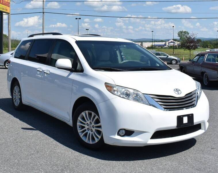 2012 Toyota Sienna for sale at Broadway Motor Car Inc. in Rensselaer NY